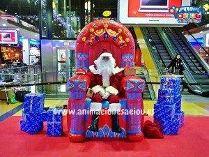 Contratar la visita de Papá Noel a domicilio en Murcia