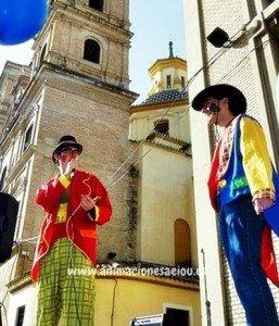 Animadores magos payasos en Murcia.
