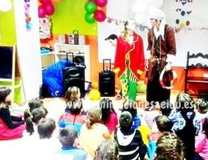 payasos para fiestas de niños Murcia