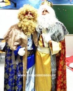 Visita de reyes magos a domicilio en Murcia