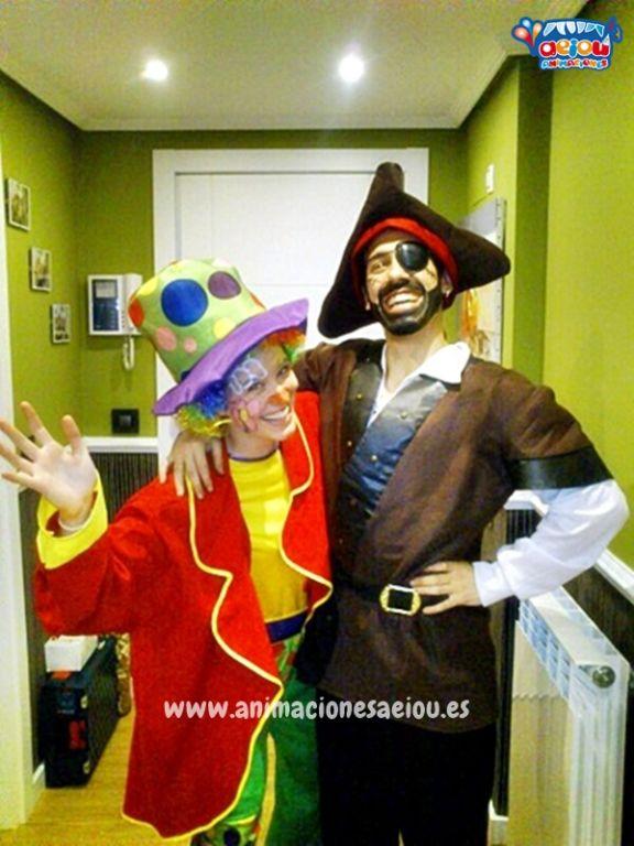 Fiestas temáticas de piratas en Murcia