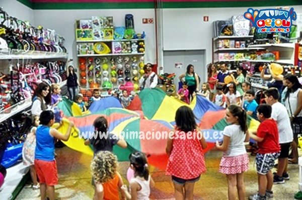 Animaciones para fiestas de cumpleaños infantiles y comuniones en Caravaca de la Cruz