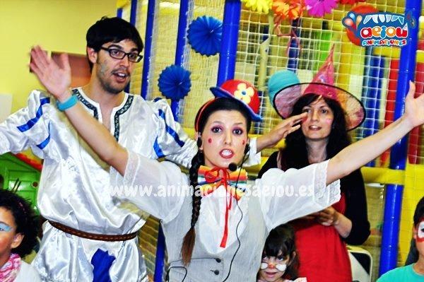 Animaciones para fiestas de cumpleaños infantiles y comuniones en Molina de Segura