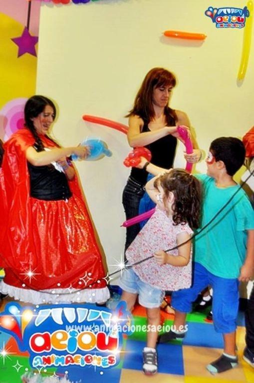 Divertidas animaciones para fiestas de cumpleaños infantiles en San Javier
