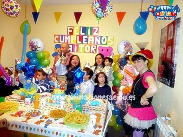 Animaciones para fiestas de cumpleaños infantiles y comuniones en Yecla